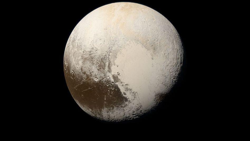 """Bild von Pluto aus der """"New Horizons""""-Mission"""