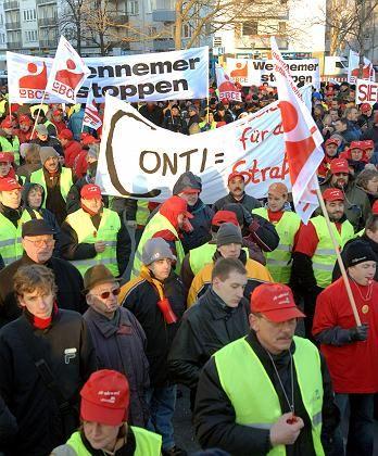 """Mitarbeiter-Protest bei Continental (gestern): """"Grundlagen für einen Kompromiss geschaffen"""""""