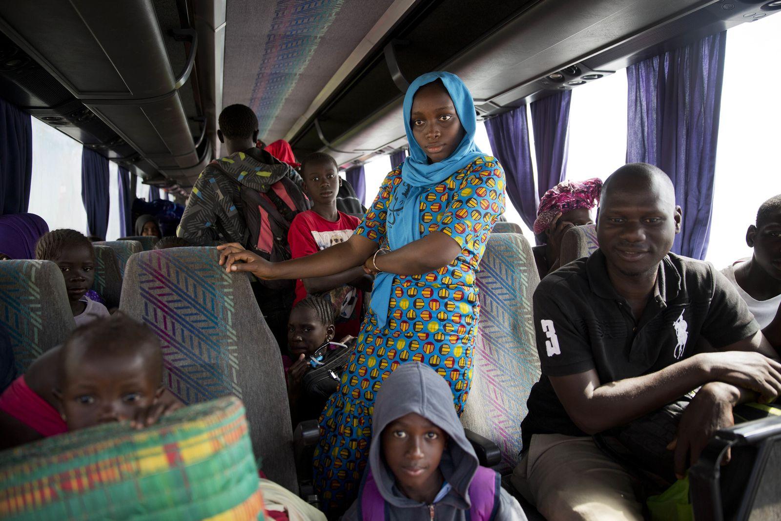 Gambia/ Banjul/ Migranten