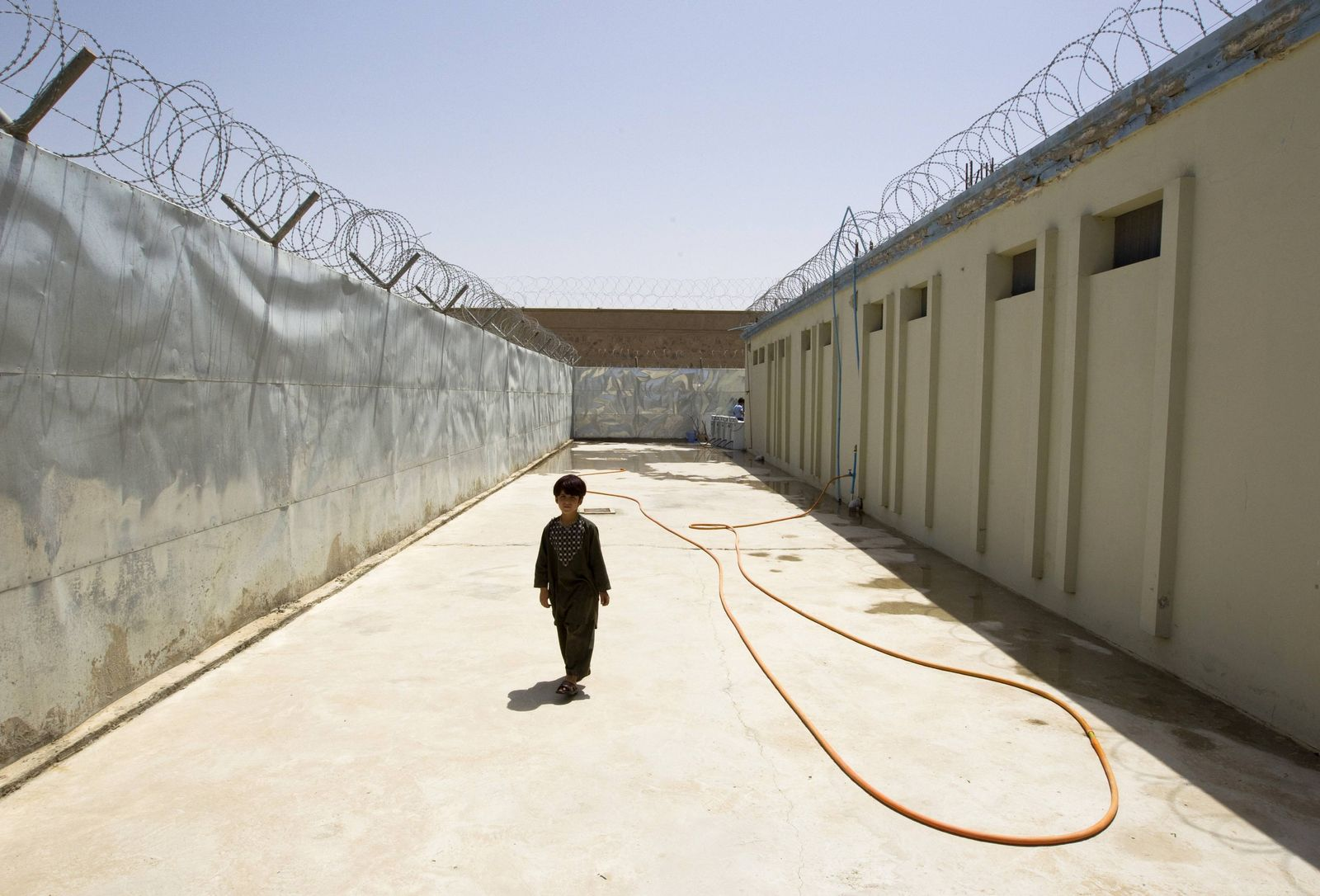 Gefängnis in Helmand/