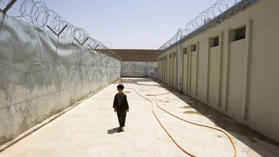 Gefängnis in der Provinz Helmand: Laut Uno ist Folter weit verbreitet