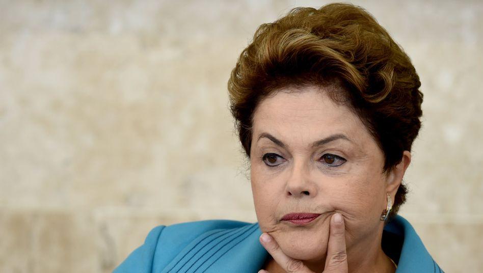 Präsidentin Rousseff: Im Kreuzfeuer von Korruptionsvorwürfen