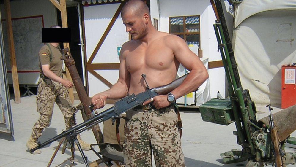 Traumatisierter Soldat: Alptraum in der Sprenggrube