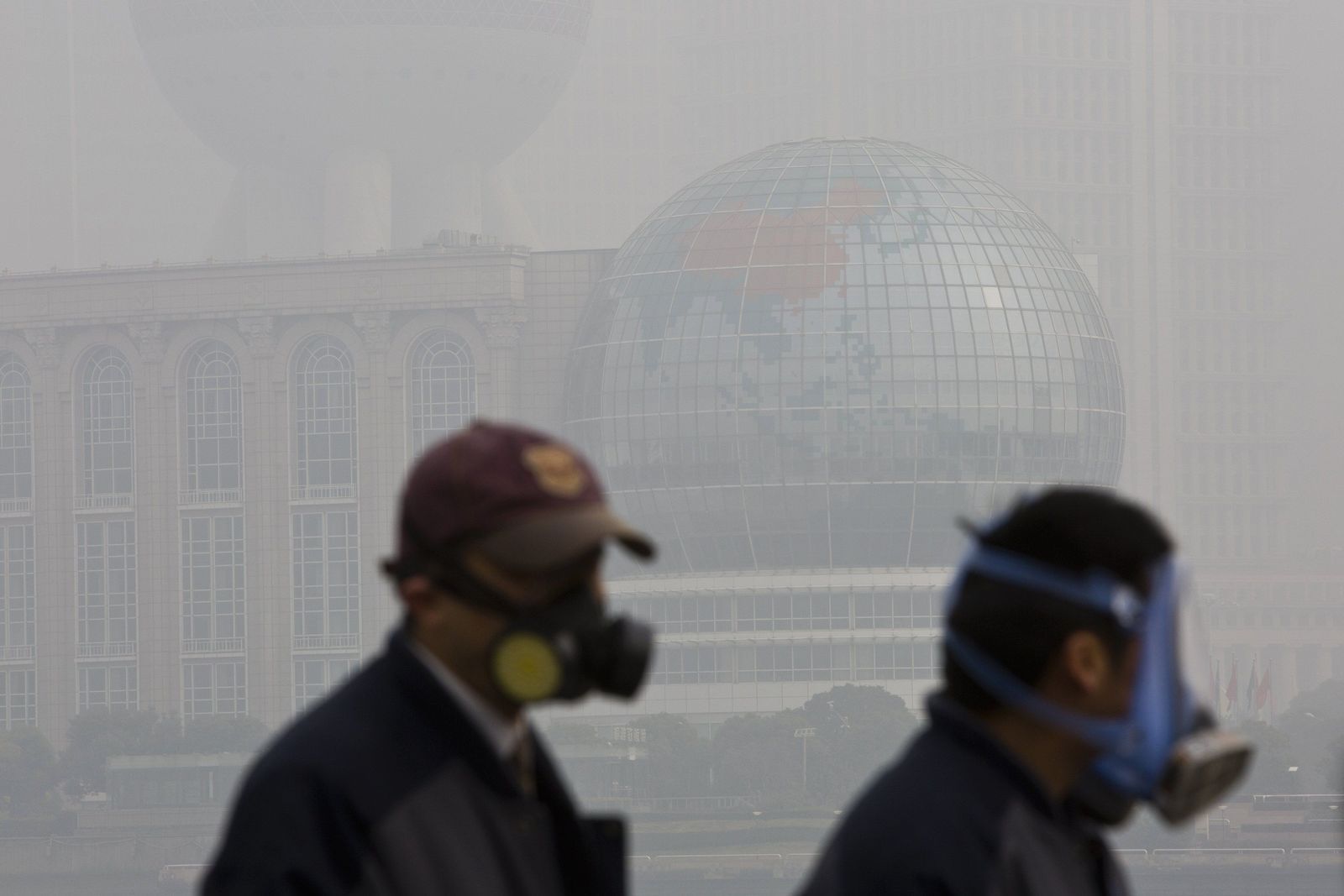 CHINA smog shanghai