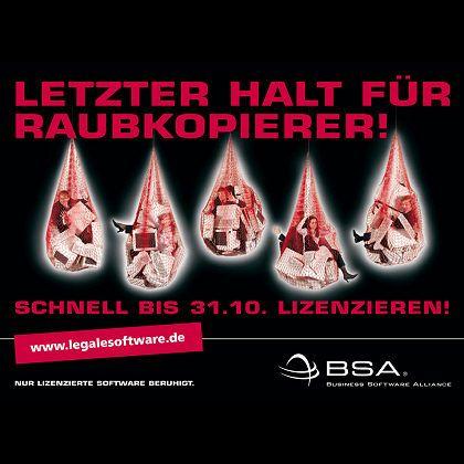 Aktuelle BSA-Kampagne: Mittelständische Unternehmen im Visier?
