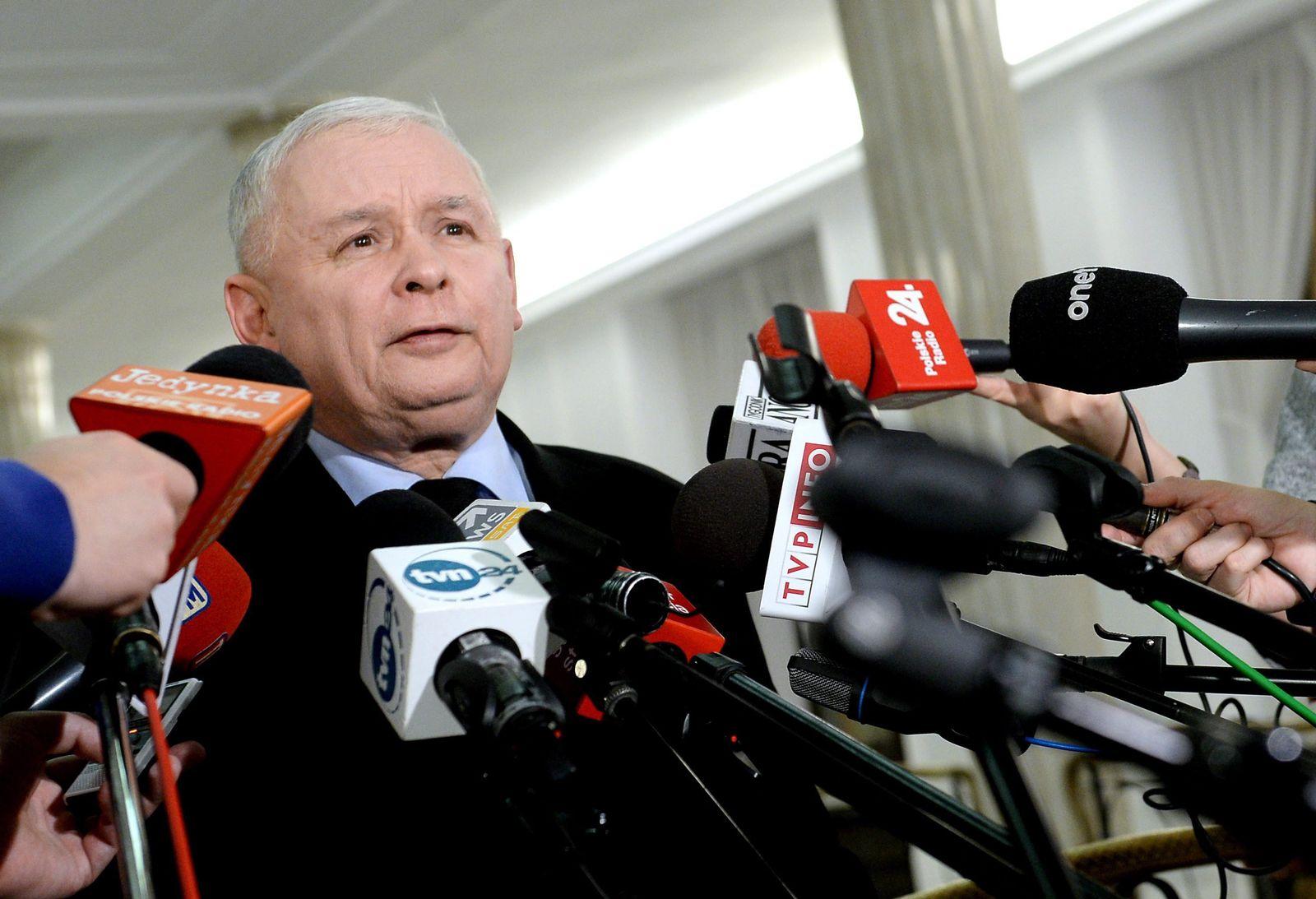 Law and Justice party leader Jaroslaw Kaczynski