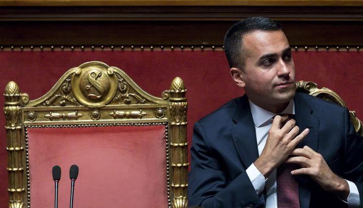 Luigi Di Maio: Betont entspannt nach der Eskalation des Regierungspartners