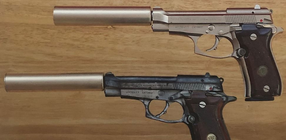 James Bond firearms stolen, Enfield