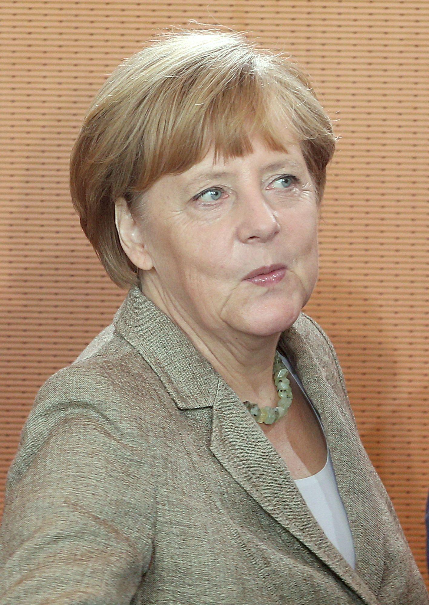 Angela Merkel / Kabinettssitzung