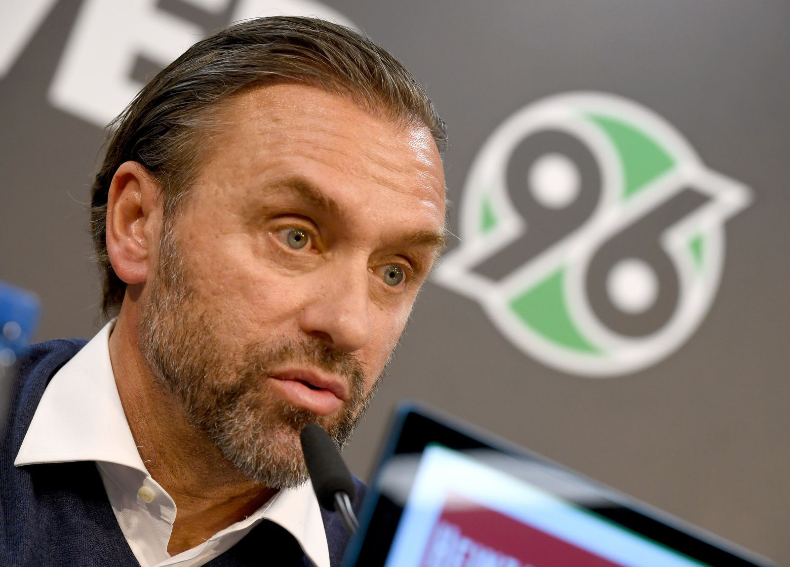 Neuer Trainer Thomas Doll bei Hannover 96