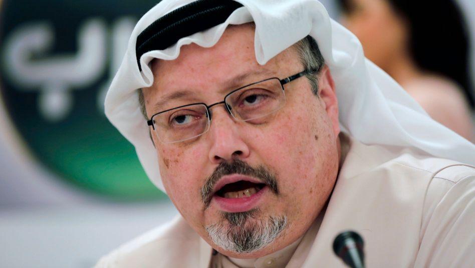 Ermordeter Journalist Jamal Khashoggi (Archivbild aus dem Jahr 2015)