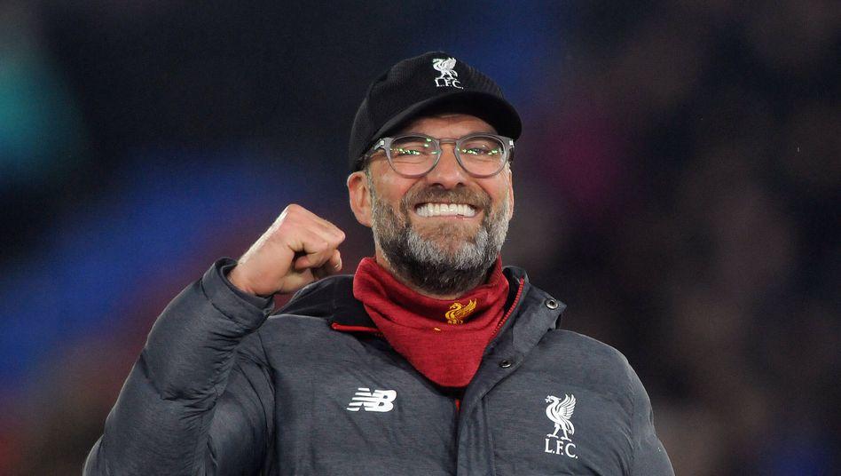 Jürgen Klopp gewann mit Liverpool die erste Meisterschaft seit 30 Jahren