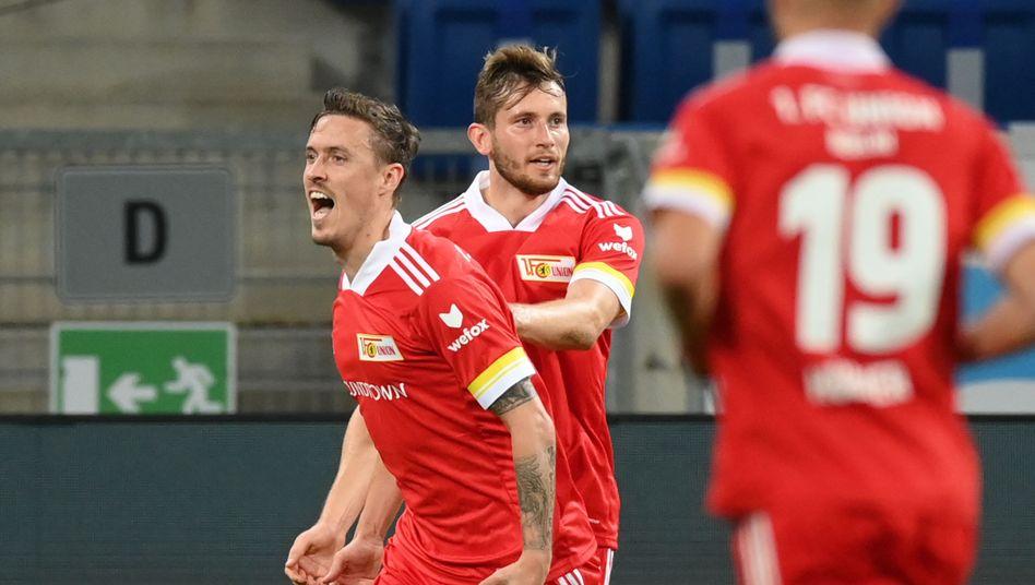 Max Kruse (l.) erzielte in Hoffenheim seinen zweiten Saisontreffer