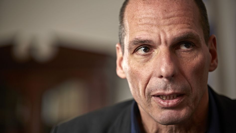 """Greek Finance Minister Giannis Varoufakis: """"The truth of the matter is that 90 percent of that money never arrived in Greece."""""""