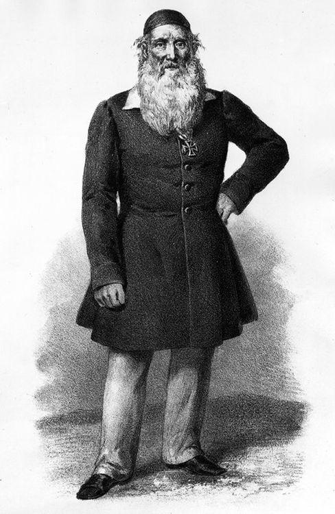 Friedrich Ludwig Jahn um 1850