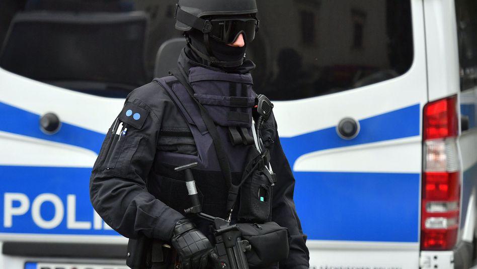 Polizist in Chemnitz
