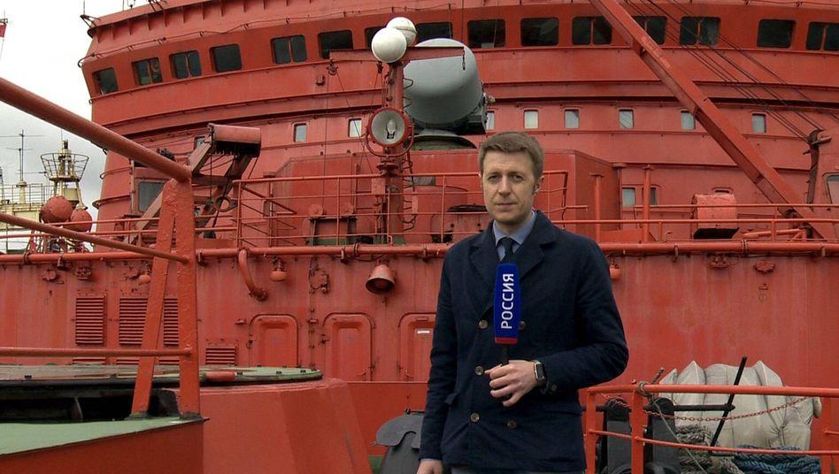 Reporter Korneljuk: Unter Feuer ukrainischer Truppen geraten