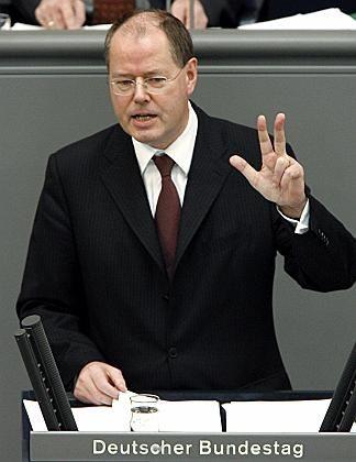 Bundesfinanzminister Steinbrück: Ehegattensplitting auf dem Prüfstand