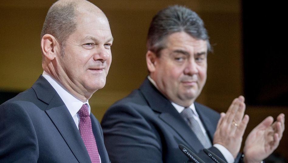 SPD-Politiker Scholz, Gabriel: Wer wird 2017 Kanzlerkandidat?