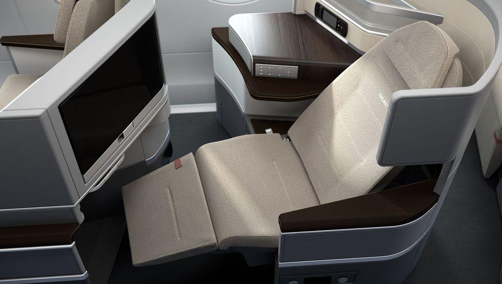 Neue Flugzeugsitze: Komfort auf kleinstem Raum