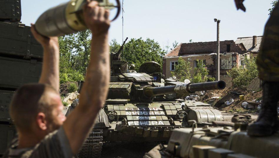 Schwere Gefechte in Ostukraine: Der Krieg kehrt zurück