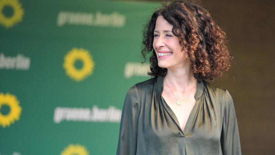 Bettina Jarasch, Spitzenkandidatin der Berliner Grünen: Im Sog des Bundestrends