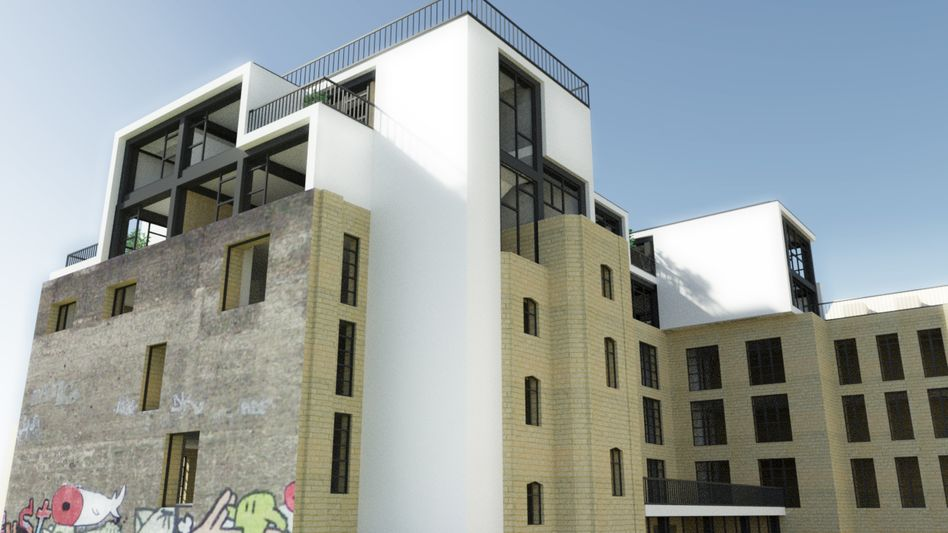 An architectural rendering of Berlin's Factory, a hub for tech start-ups in the German capital slated to open in 2013.