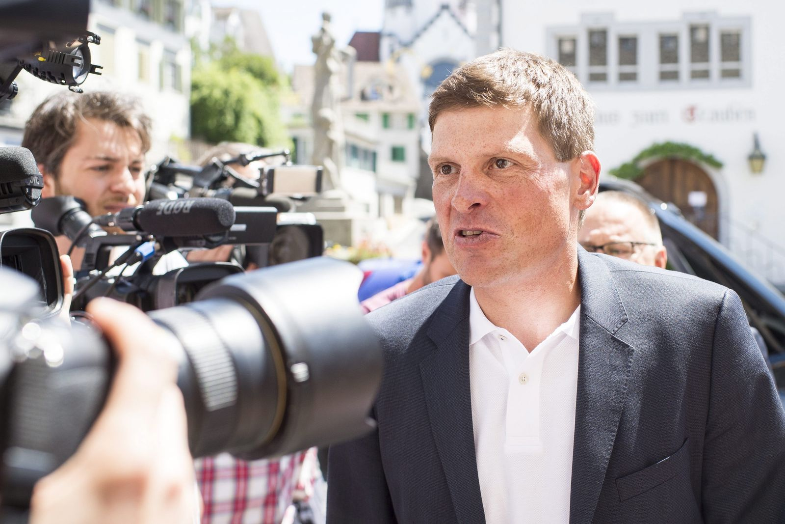 Former road cycler racer Jan Ullrich in trial on car accident