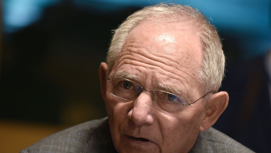 Schäuble in Luxemburg