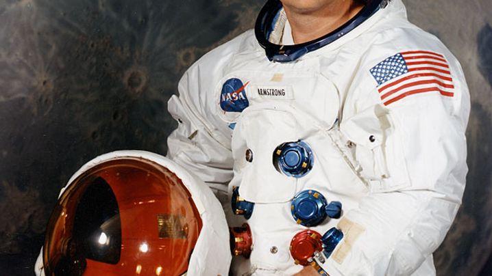 """Neil Armstrong: """"Ein großer Sprung für die Menschheit"""""""
