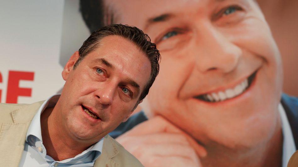 """FPÖ-Chef Strache: """"Vollstens einverstanden"""" mit Gesprächen"""