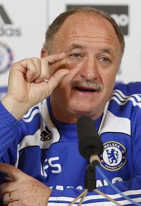 Chelsea-Trainer Scolari: Kleine Brötchen backen