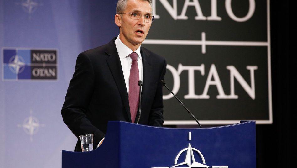 """Nato-Generalsekretär Stoltenberg: Plant """"Speerspitze"""" für """"Anfang kommenden Jahres"""""""
