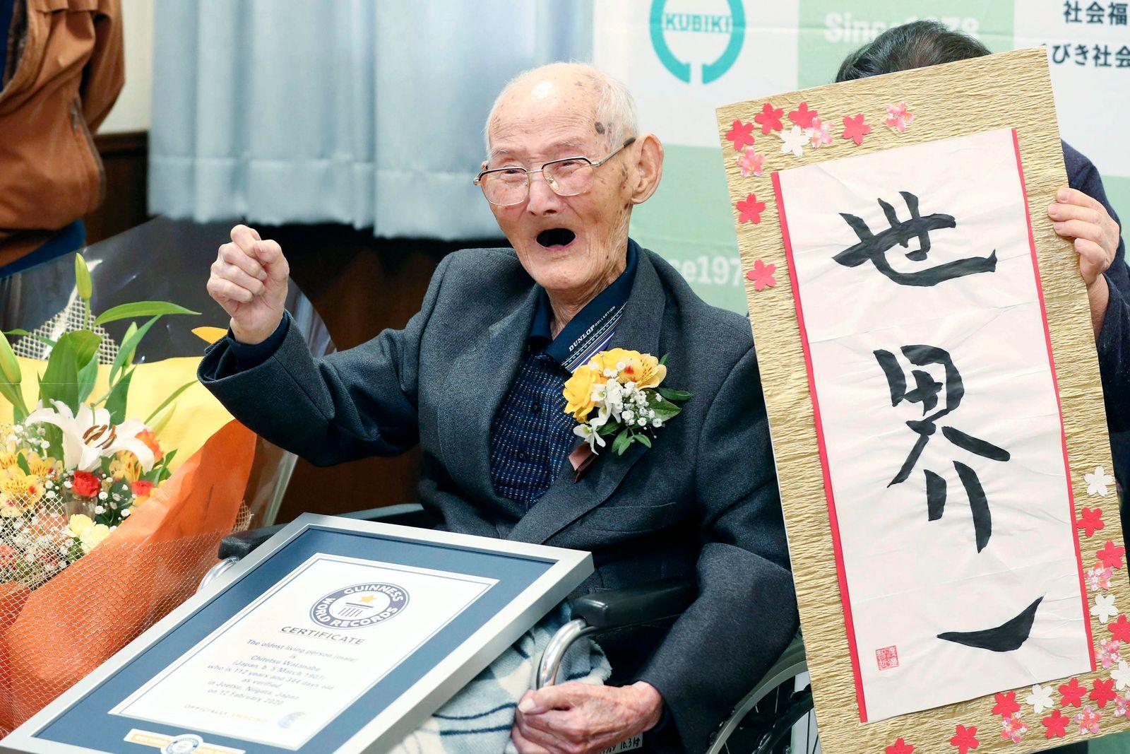 Japan Oldest Man
