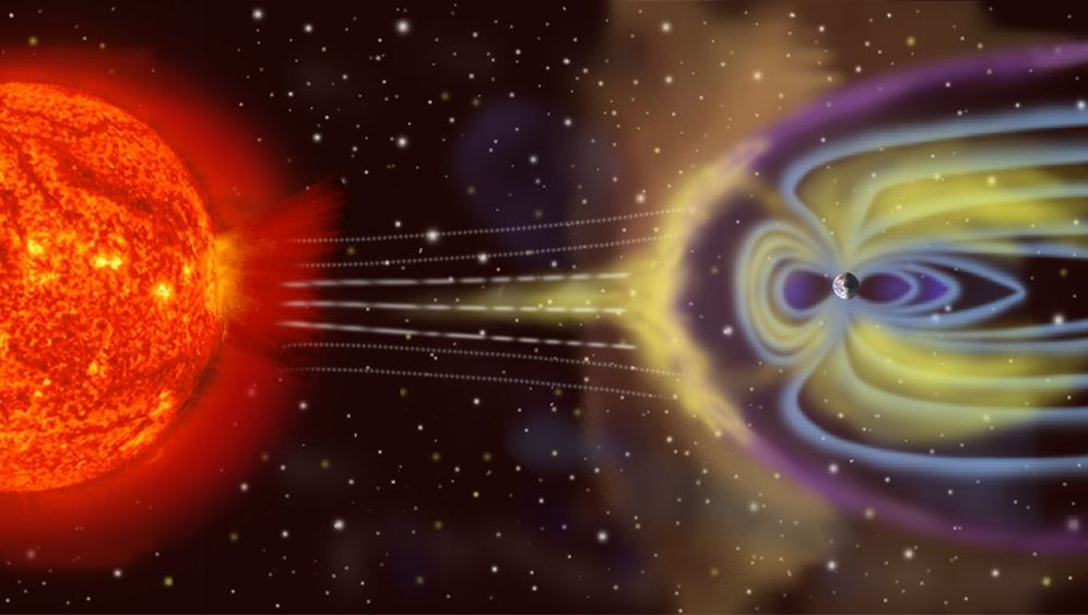 Erdmagnetfeld: Schutzschild gegen kosmische Strahlung