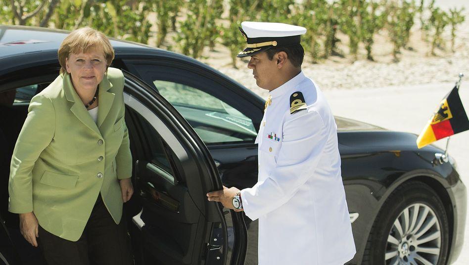Kanzlerin Merkel in Mexiko: Viel Lob, gewaltige Erwartungen