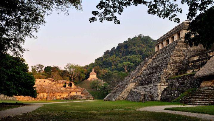 Maya-Stadt Palenque: Rakete - oder Eingang zur Unterwelt?