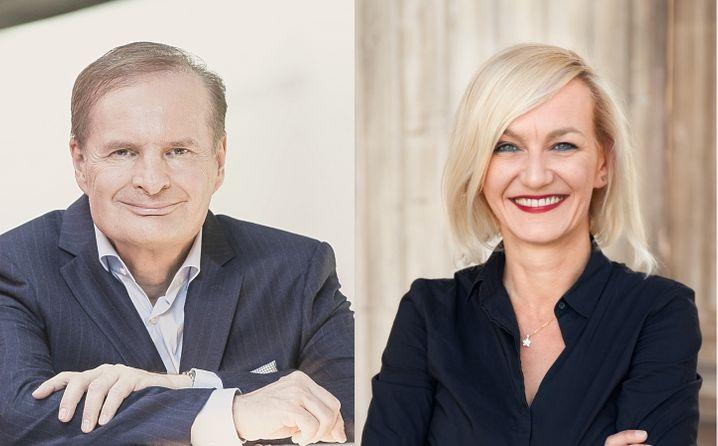 Lothar Seiwert und Silvia Sperling