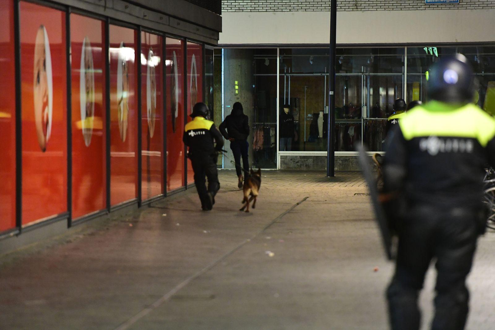 Polizei/ Niederlande/ Rotterdam