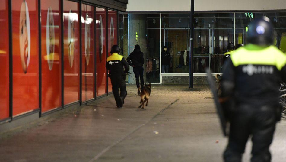 Sicherheitsbeamte in den Niederlanden (Symbolbild)