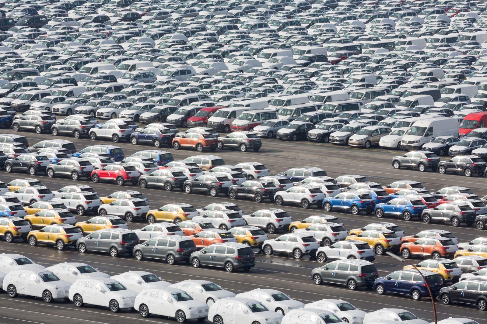 Auto-Export - Hafen Emden