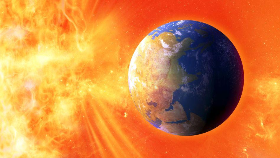 Das Ende der Welt: Erst in 1,75 Milliarden Jahren wird die Erde zur Wüste.