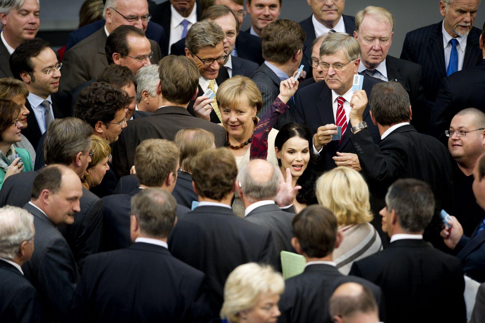 NICHT VERWENDEN Bundestag/ Abstimmung EFSF