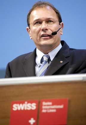 """Swiss-CEO Dosé: """"Wenn Sie so in der Öffentlichkeit stehen wie ich momentan, ist es manchmal sehr schwierig."""""""