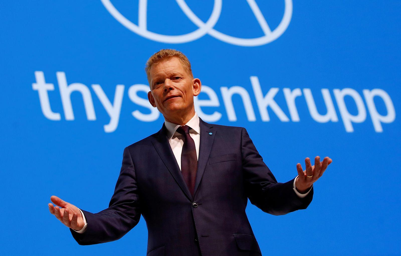 THYSSENKRUPP / Guido Kerkhoff