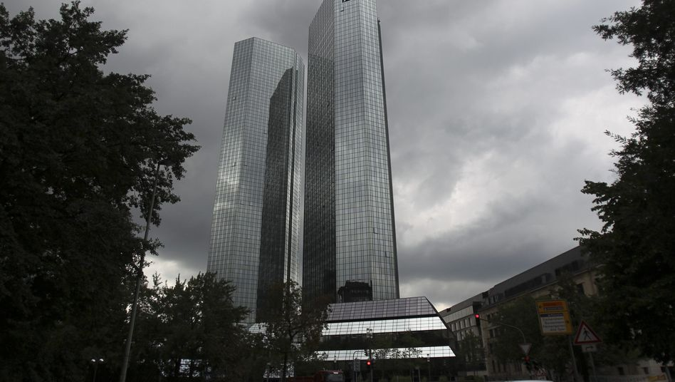 Deutsche-Bank-Türme in Frankfurt: Fragwürdige Überweisung