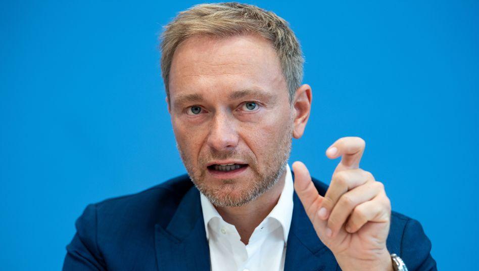 FPD-Chef Lindner: Scholz soll die schwarze Null verteidigen