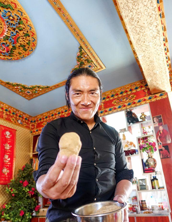 Jamphel in Tibet: Gastfreundschaft zu Weihnachten