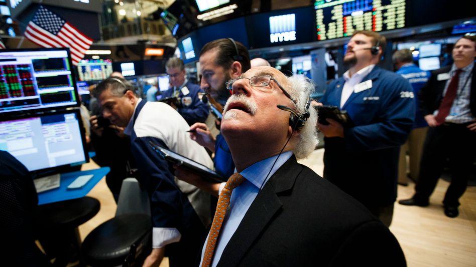 Börse in New York nach dem Brexit