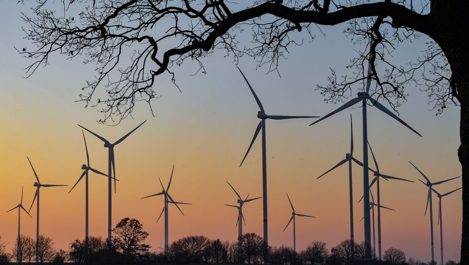 Windräder in Brandenburg